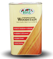 Rose wood stain